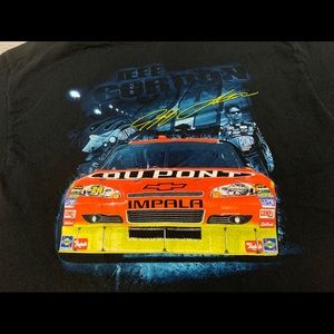 Chase Authentics Shirts - NASCAR Jeff Gordon Double Sided Shirt Black Chase